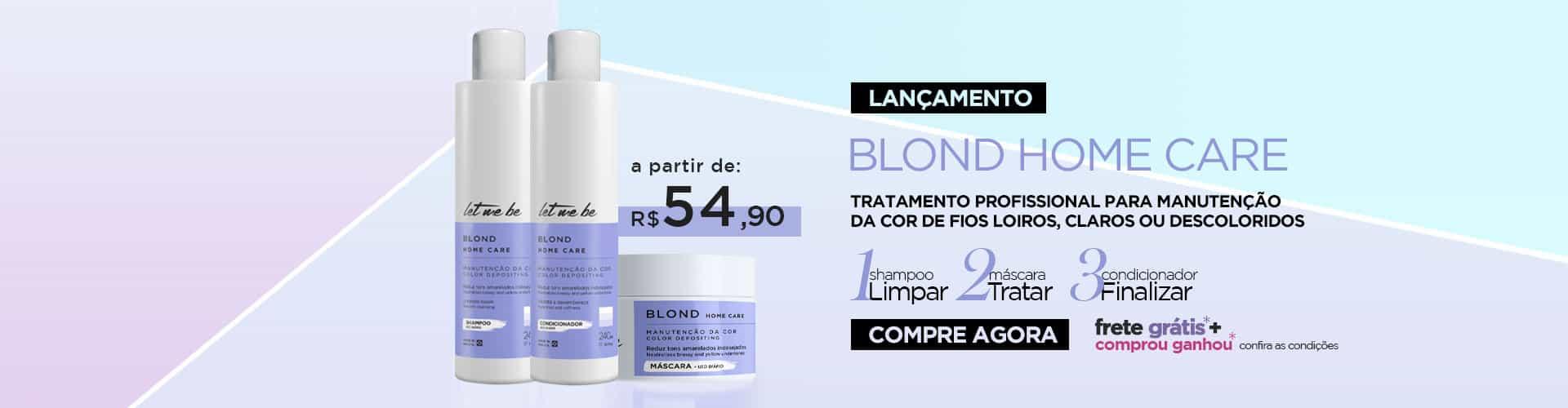 Home Care Blond - Loiros ou Descoloridos
