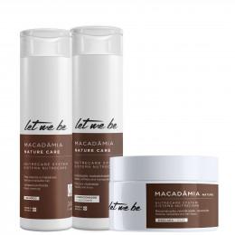 Kit Macadâmia - Home Care | 3 produtos
